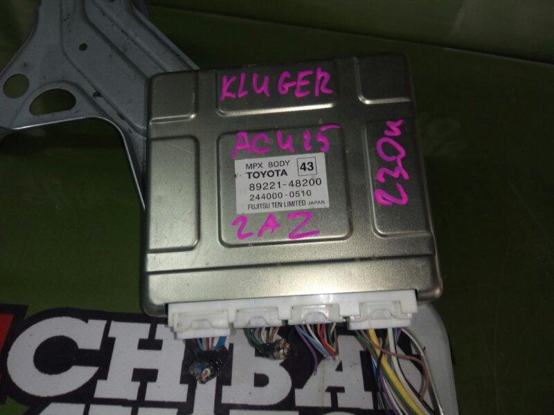 Блок body control KLUGER ACU25 2AZ