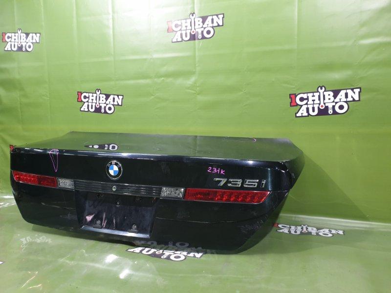 Крышка багажника BMW 7SERIES E65