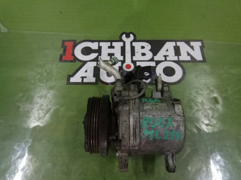 Компрессор кондиционера NISSAN ROOX ML21S K6A 95201-58J40 контрактная
