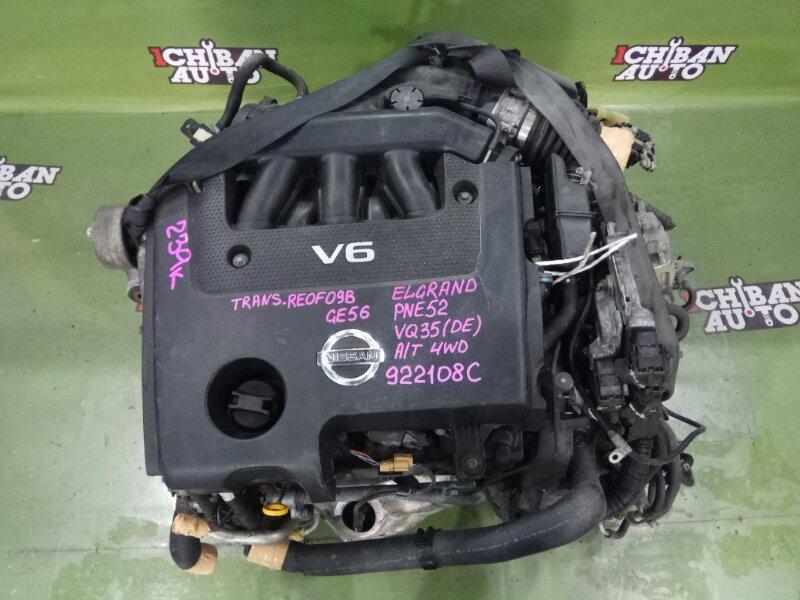 Двигатель NISSAN ELGRAND PNE52 VQ35DE контрактная