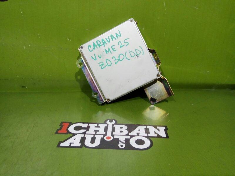 Блок управления efi NISSAN CARAVAN VWME25 ZD30DD 23710 VX105 контрактная