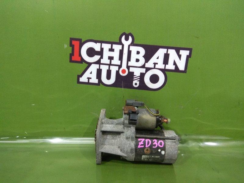 Стартер NISSAN CARAVAN CWGE25 ZD30DDTI 23300 VW211 контрактная