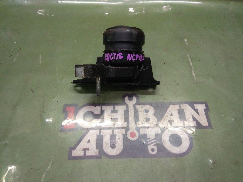 Подушка двигателя передняя правая TOYOTA RACTIS NCP125 1NZ-FE 12305-21380 контрактная