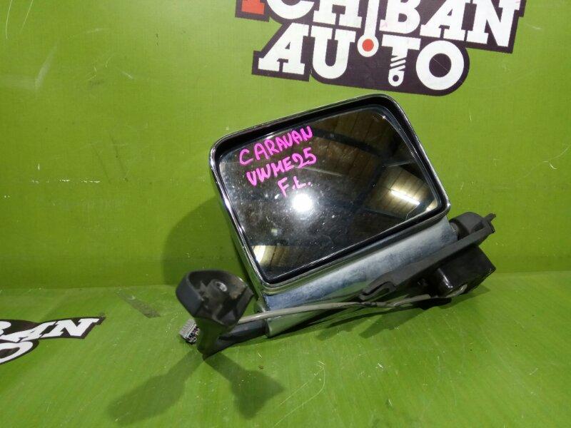 Зеркало бокового вида правое NISSAN CARAVAN VWME25 ZD30 контрактная