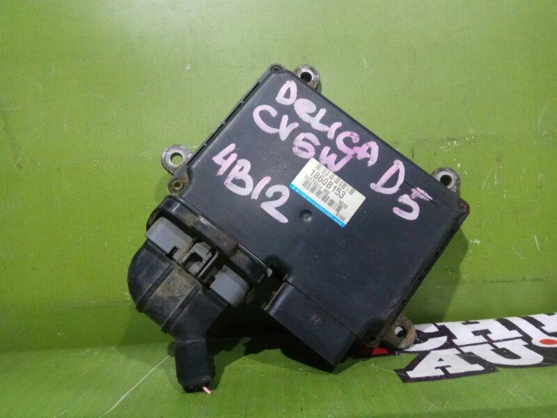 Блок управления efi MITSUBISHI DELICA D5 CV5W 4B12 1860B153 контрактная