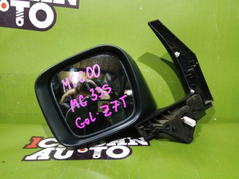 Зеркало бокового вида левое NISSAN MOCO MG33S K6A 963024A12E контрактная