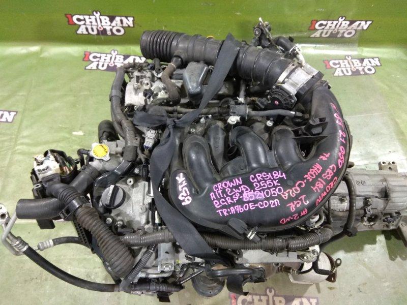 Двигатель TOYOTA CROWN GRS184 2GR-FSE 19000-31B10 контрактная