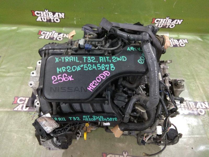 Двигатель NISSAN X-TRAIL T32 MR20(DD) 10102-4BB3A контрактная