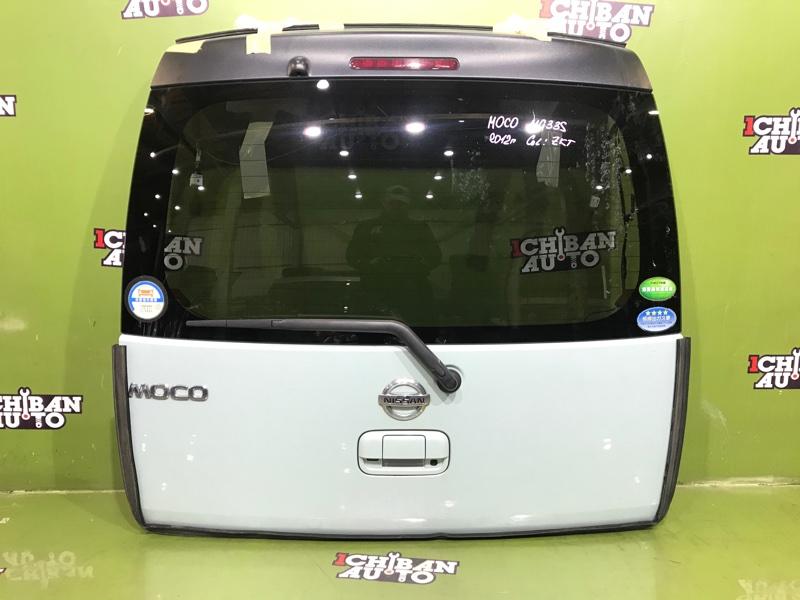 Дверь 5-я задняя NISSAN MOCO 2012 MG33S 90100-4A00G контрактная
