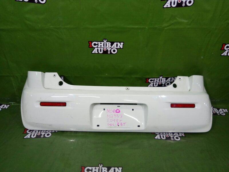 Бампер задний NISSAN MOCO MG33S 85022-4A01J контрактная