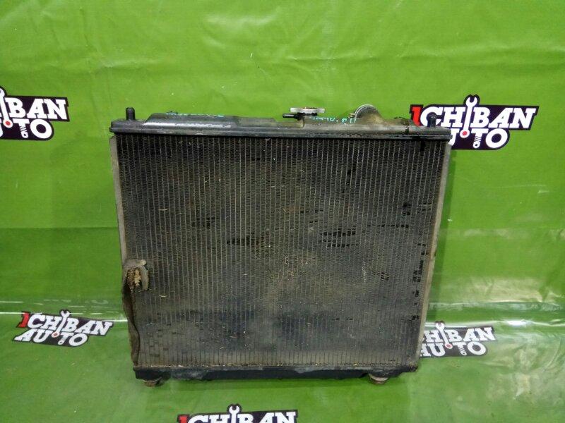 Радиатор основной MITSUBISHI PAJERO V26W 4M40 MB890955 контрактная