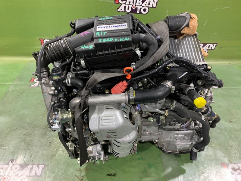 Двигатель HONDA N-WGN 2019 JH2 S07A контрактная
