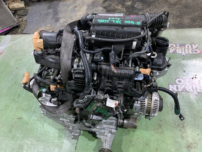 Двигатель HONDA N-WGN JH2 S07A