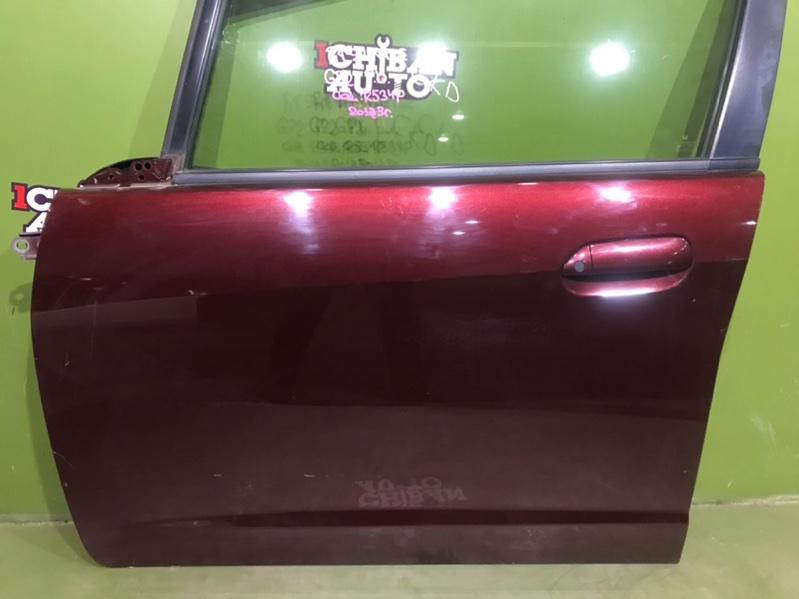 Дверь передняя левая FIT SHUTTLE 2013 GP2