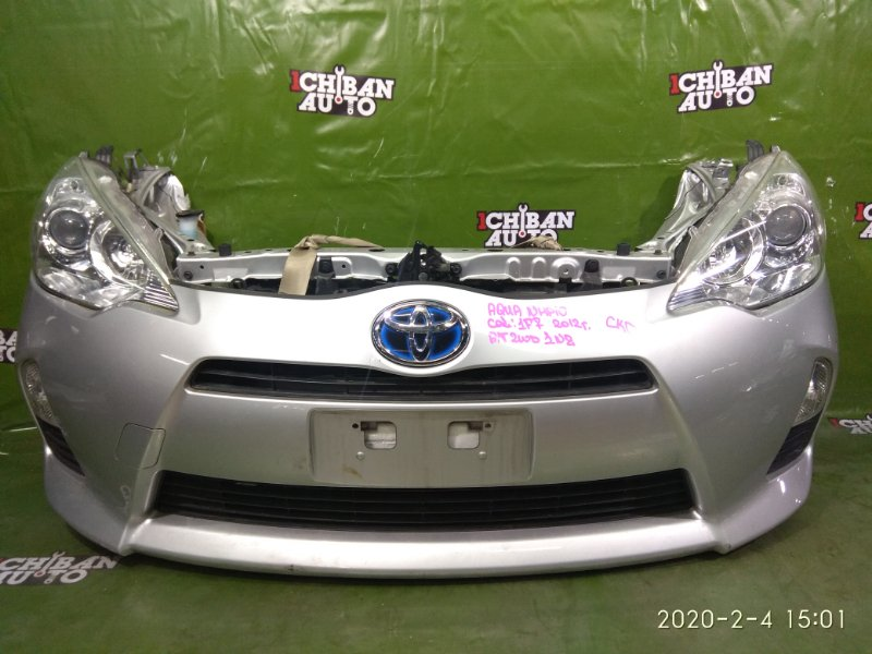 Nose cut Toyota Aqua NHP10 1NZ-FXE 2012
