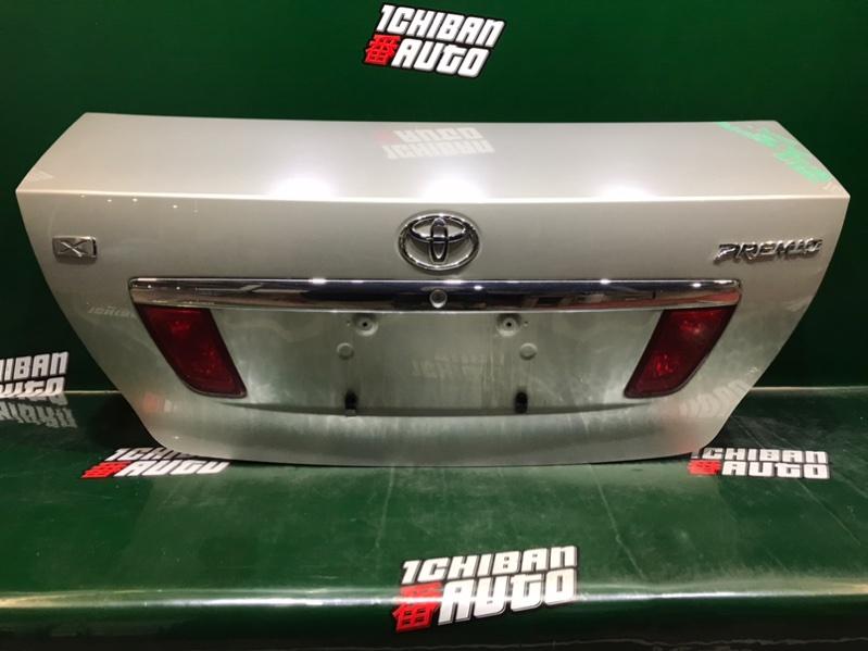 Крышка багажника задняя TOYOTA PREMIO 2004 ZZT245 1ZZ-FE контрактная