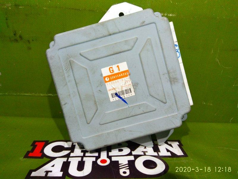 Блок управления efi SUBARU LEGACY BP5 EJ20X 22611AK233 контрактная