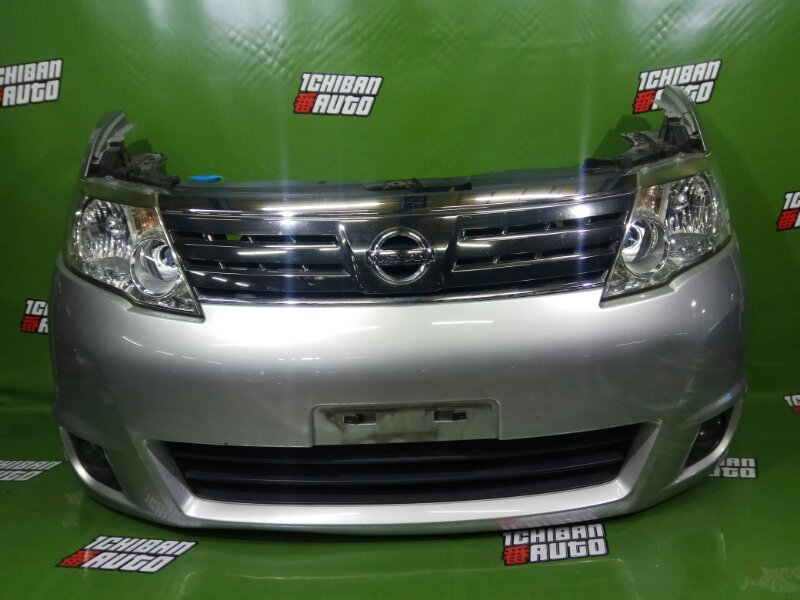Nose cut Nissan Serena C25 MR20DE передний