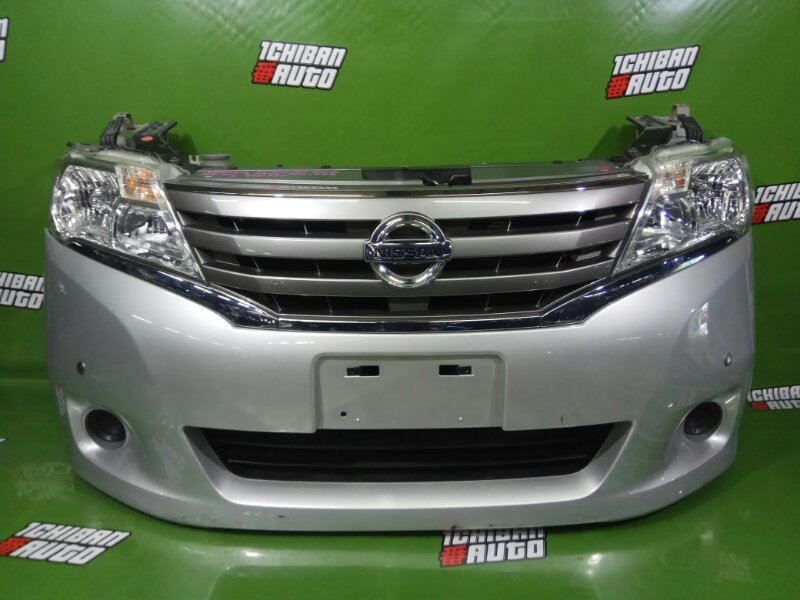 Nose cut Nissan Serena NC26 MR20DE 2010г. передний