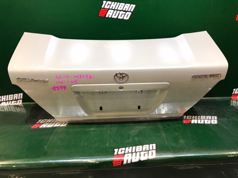 Крышка багажника задняя TOYOTA SPRINTER 1997 AE110 64401-1A620 контрактная