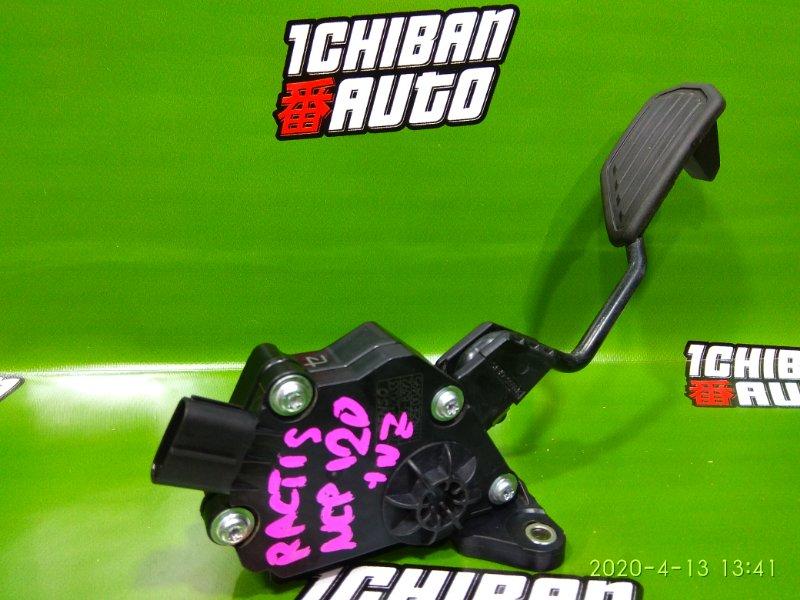 Педаль газа TOYOTA RACTIS 2011 NCP120 1NZ-FE 78110-52033 контрактная