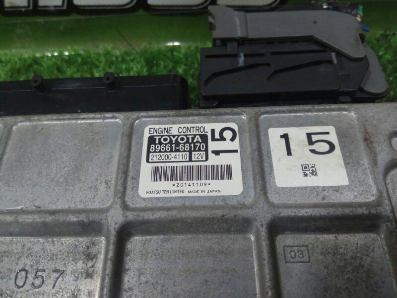 Блок управления efi TOYOTA WISH ZGE22 3ZR-FAE