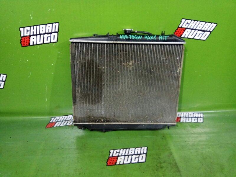 Радиатор основной ISUZU WIZARD UBS73GW 4JX1 контрактная