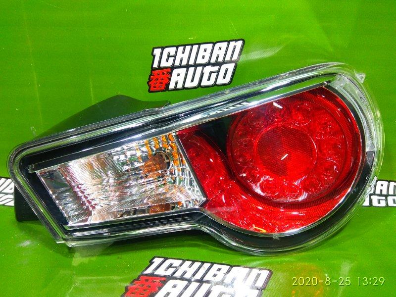 Стоп-сигнал задний правый TOYOTA GT86 ZN6 SU003-02530 контрактная