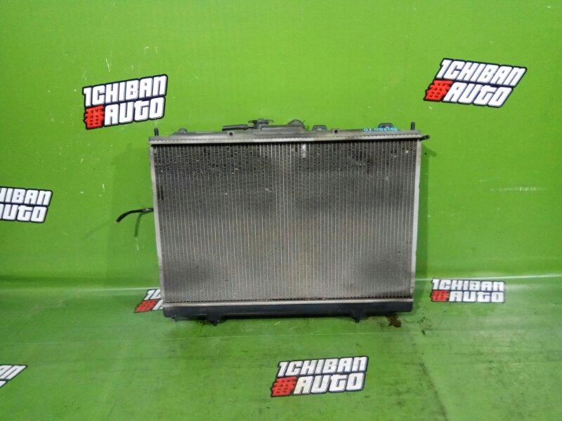 Радиатор основной MITSUBISHI PAJERO IO H76W 4G93 MR373172 контрактная