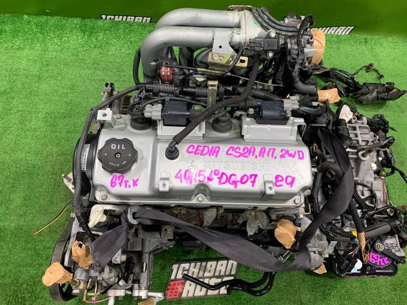 Двигатель MITSUBISHI LANCER CEDIA CS2A 4G15 контрактная