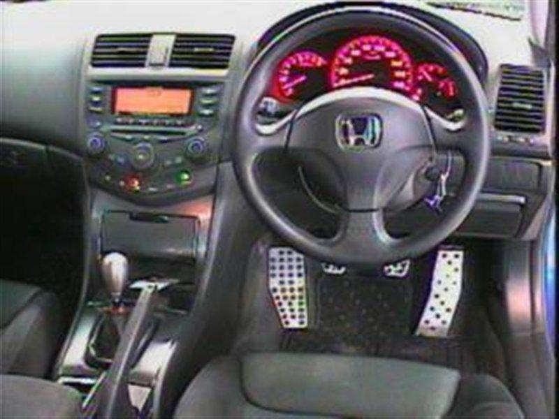 Ручка ручника Honda Accord CL7 K20A 2003 серебро 1078