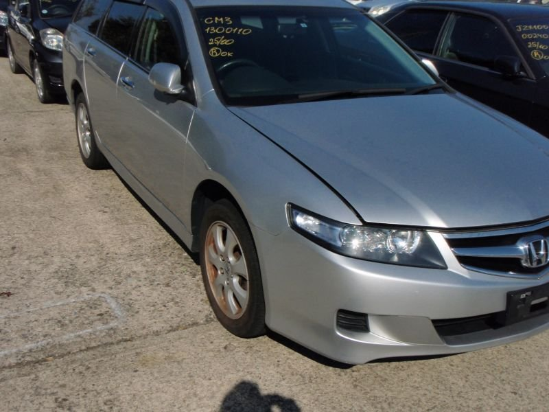 Порог Honda Accord Wagon CM2 K24A 2007 серебро