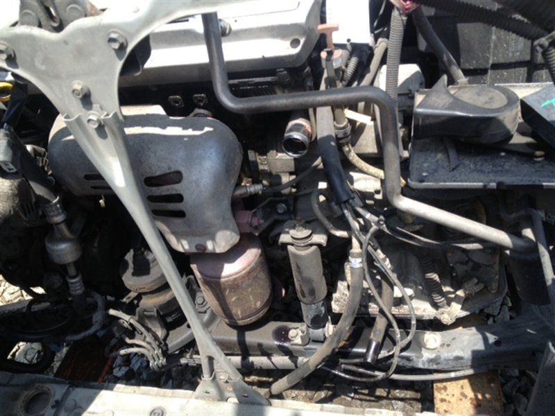 Амортизатор двигателя Toyota Harrier MCU15 1MZ-FE 2001 передний серый