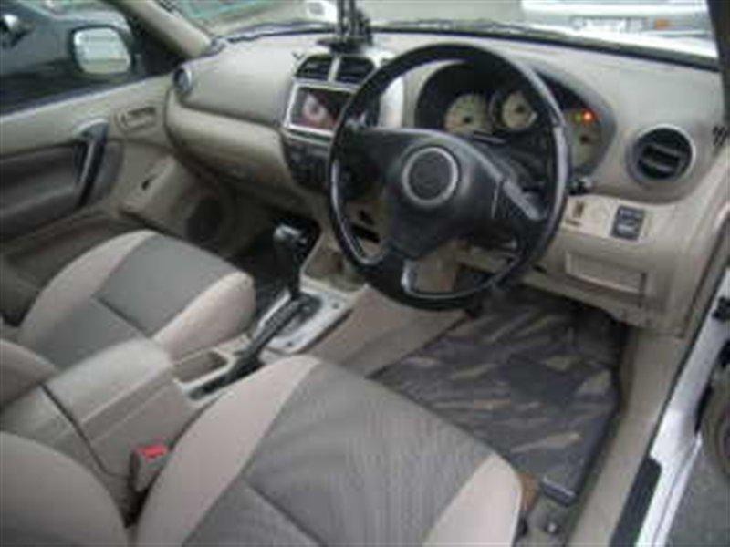 Селектор акпп Toyota Rav4 ACA21 1AZ-FSE 2005 белый 1007