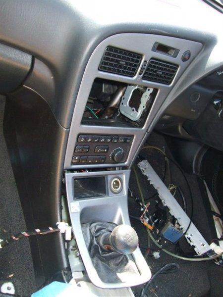 Климат-контроль Toyota Celica ST205 3S-GTE 1998 белый 1027