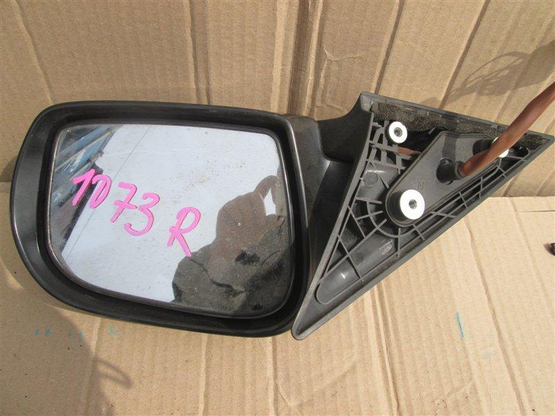 Зеркало Subaru Legacy BL5 EJ20Y 2007 переднее правое 9 контактов черный 1073