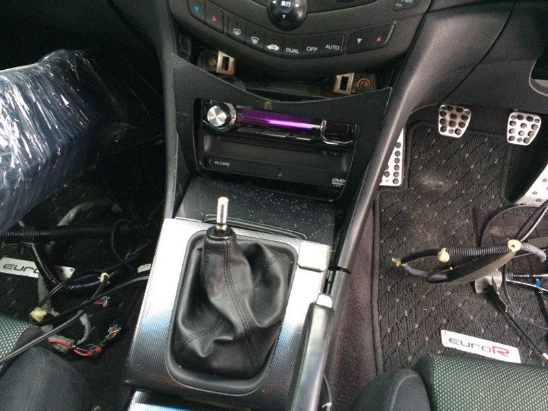 Рычаг переключения кпп Honda Accord CL7 K20A 2003 серый 1078