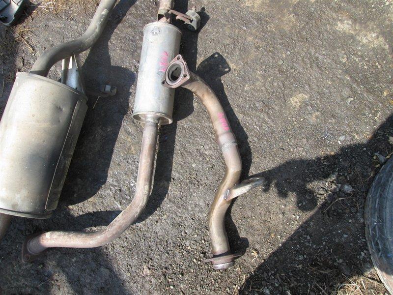 Приемная труба Honda Hrv GH3 D16A 2003 синий 1084