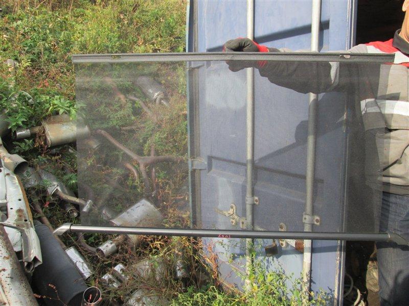 Шторка окна Honda Inspire UA5 J32A 2001 задняя серебро 1089