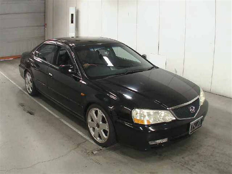Порог Honda Inspire UA5 J32A 2001 черный 1110