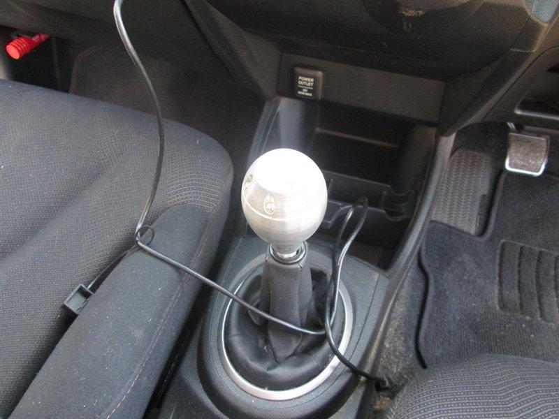 Рычаг переключения кпп Honda Fit GE8 L15A 2008 1072