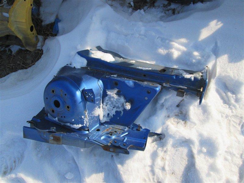Лонжерон Mazda Demio DY5W ZY-VE 2006 правый синий (27b) 1122