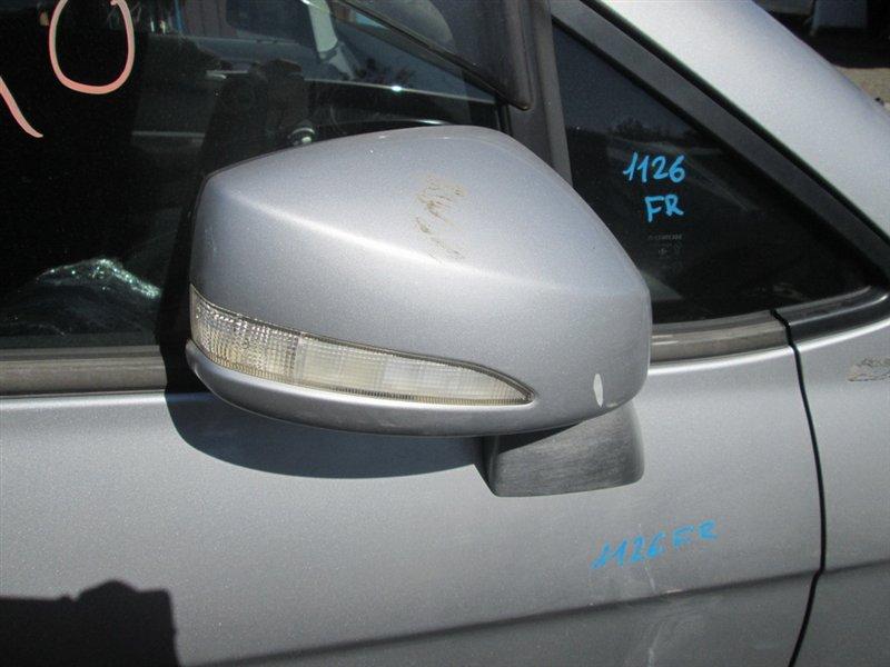 Зеркало Honda Edix BE1 K20A 2006 переднее правое 11 контактов серебро (nh623m) 1126