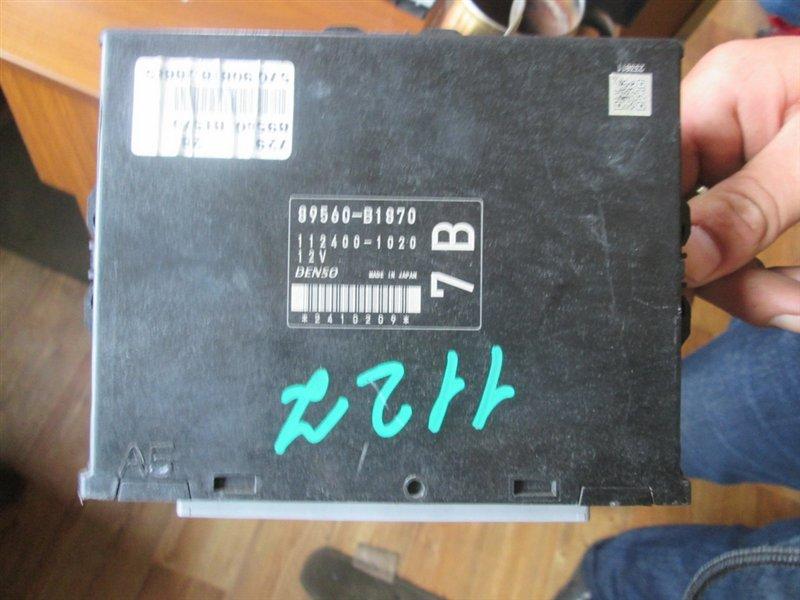 Блок управления efi Toyota Bb QNC21 3SZ 1127 89560-b1870