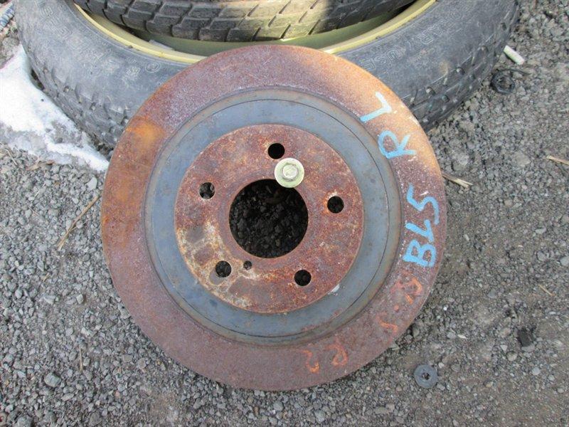 Тормозной диск Subaru Legacy BL5 2003 задний