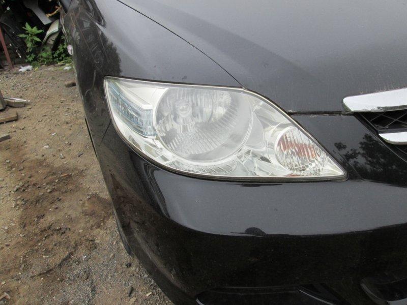 Фара Honda Fit Aria GD8 L15A 2006 передняя правая 5659 черный (b92p) 1154