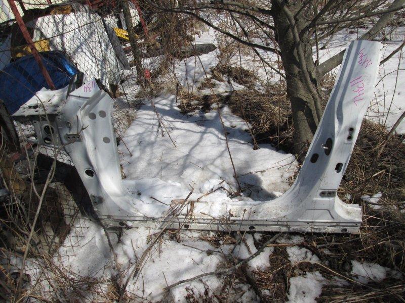 Порог кузова Toyota Windom MCV30 1MZ-FE 2003 левый перл 062 1134