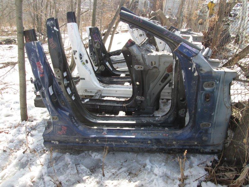 Порог кузова Nissan Skyline HV35 VQ30DD 2003 правый синий 1100