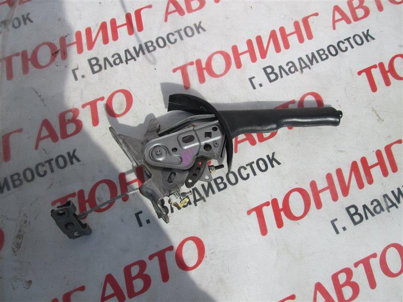 Ручка ручника Nissan X-Trail PNT30 SR20VET 2005 кожа 1188