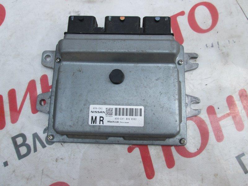 Блок управления efi Nissan Tiida JC11 MR18DE 2008 a56-c41 1186